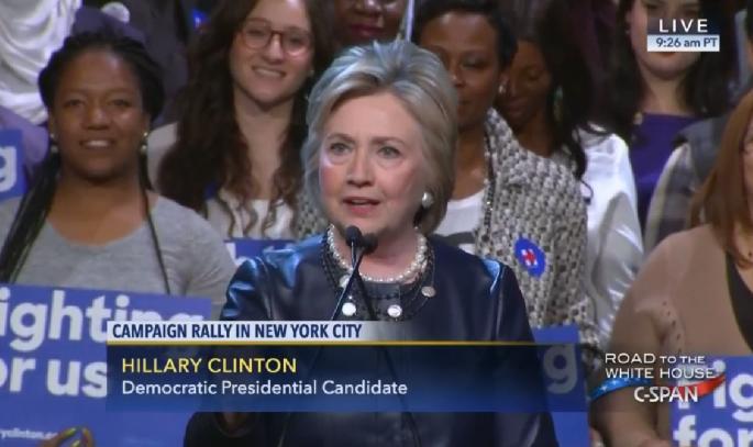 Hillary NY