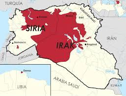territorios ocupados isis