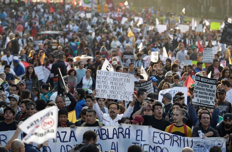 Mexico Gasoline Protests