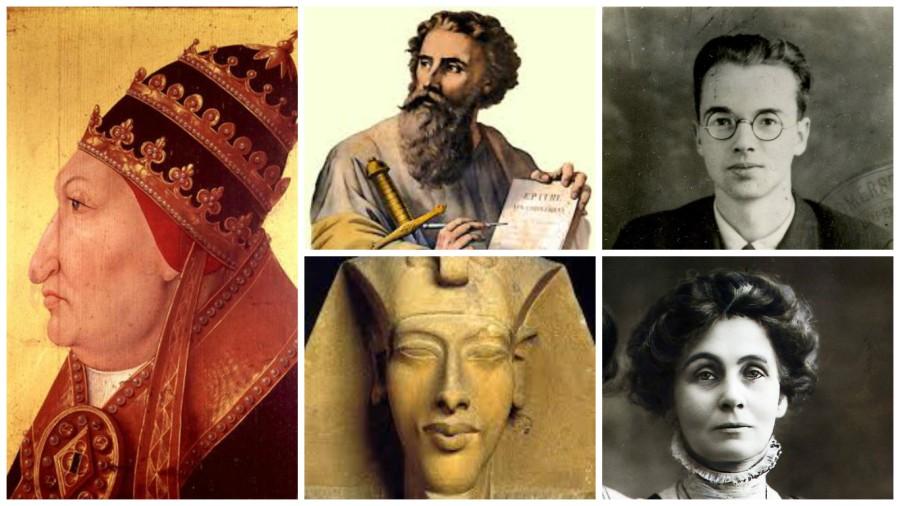 5 Personajes de la Historia