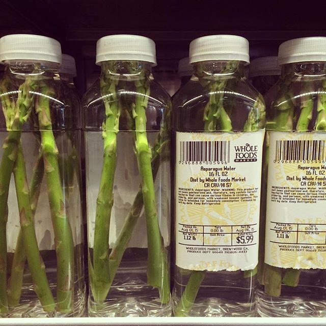 asparaguswater